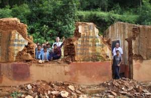 Ecole détruite 2