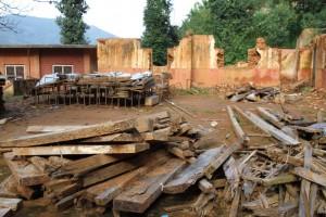 Ecole détruite 3