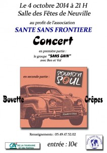 affiche concert sound'n soul 2